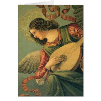 Musicien d'ange, Melozzo DA Forli, art de Carte De Vœux