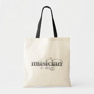 Musicien urbain sacs en toile