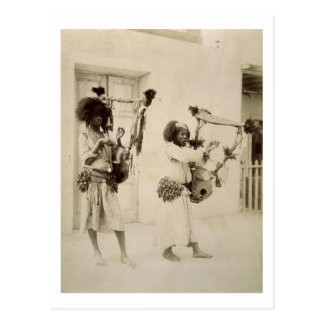 Musiciens de Nubian (photo de sépia) Carte Postale