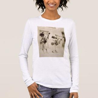 Musiciens de Nubian (photo de sépia) T-shirt À Manches Longues