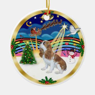 Musique 5 de Noël - le Roi cavalier Charles de Ornement Rond En Céramique