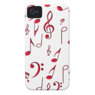 musique à mon coeur coque Case-Mate iPhone 4