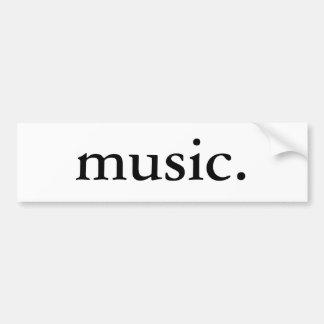 Musique Adhésifs Pour Voiture