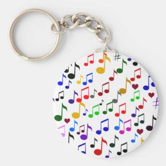Musique avec Love_ Porte-clefs