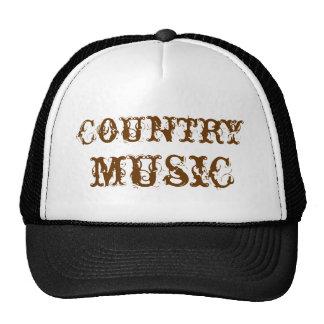 musique country casquette trucker