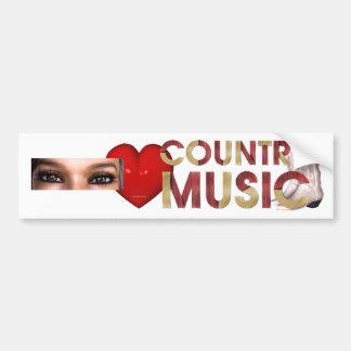 Musique country d amour de la PIÈCE EN T I Autocollants Pour Voiture