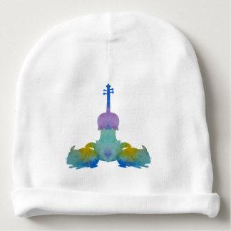 musique d'alto d'art de cinchilla bonnet de bébé
