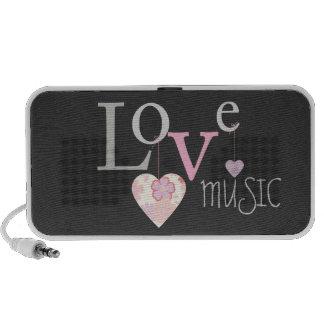 Musique d'amour haut-parleur iPhone