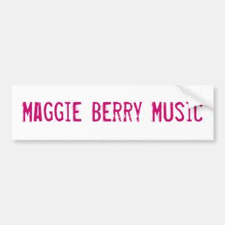 Musique de baie de Maggie Adhésif Pour Voiture