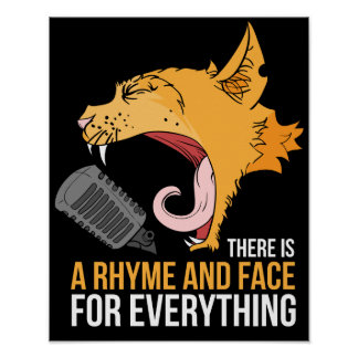 Musique de chat poster