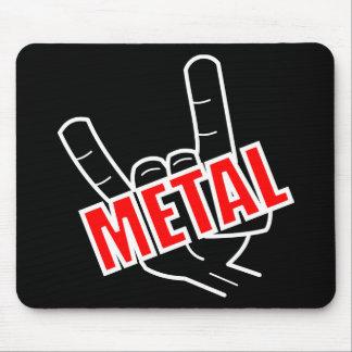 Musique de métaux lourds de salut tapis de souris