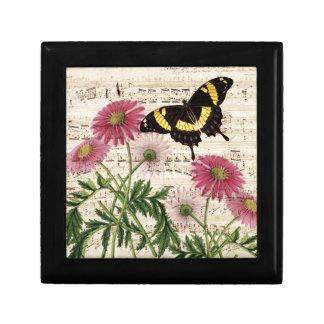musique de papillon de marguerite boîte à souvenirs