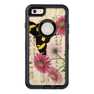 Musique de papillon de marguerite coque OtterBox iPhone 6 et 6s plus