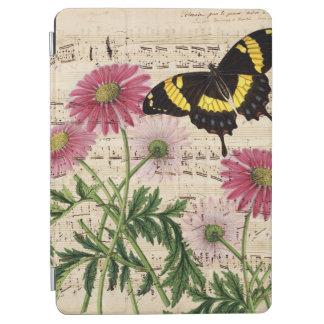 Musique de papillon de marguerite protection iPad air