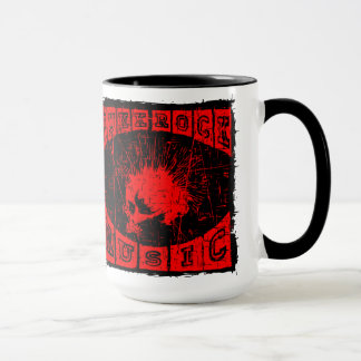 musique de punk rock mug