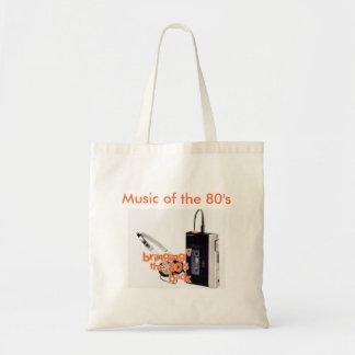 Musique des années 80 sac fourre-tout