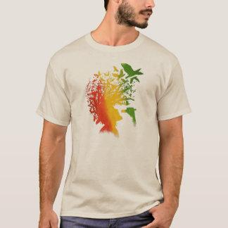Musique d'homme de rasta de reggae de Cori Reith T-shirt