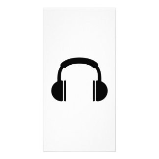 Musique DJ d écouteurs Cartes Avec Photo
