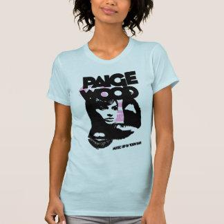 Musique en bois de Paige dans votre T-shirt
