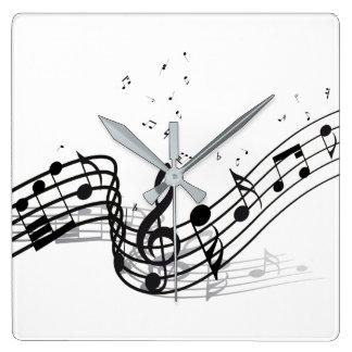 Musique Horloge Carrée