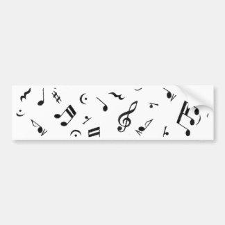 Musique Lives_ Autocollant De Voiture