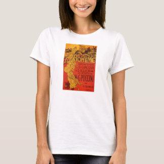 Musique vintage de Nouveau d'art, opéra de Boheme T-shirt