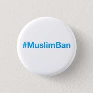 #MuslimBan Badge