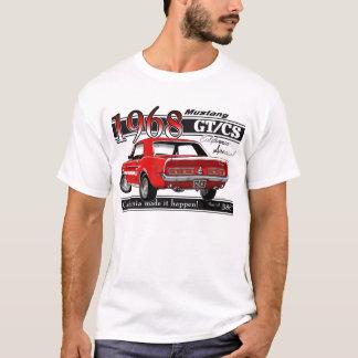 Mustang 1968 de GTCS - le double a dégrossi T-shirt