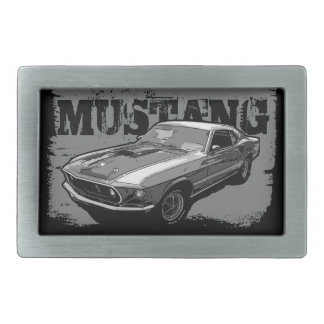 Mustang Boucle De Ceinture Rectangulaire