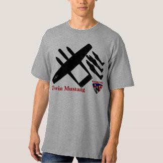 Mustang jumeau de Warkites P-82 T-shirt