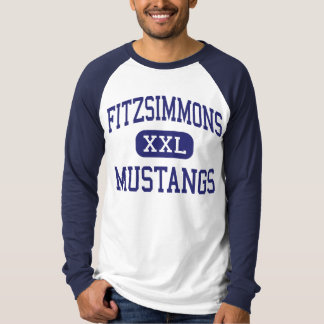 Mustangs Bailey moyen le Colorado de Fitzsimmons T-shirt