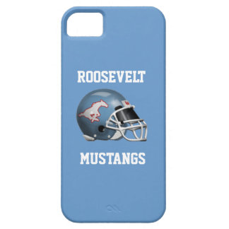 Mustangs de FDR - caisse bleue d'IPhone 5/5S Colom Coque Barely There iPhone 5