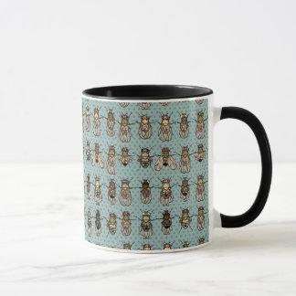 Mutants de drosophile mug