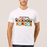 Mutations de couleur de perruche t-shirts
