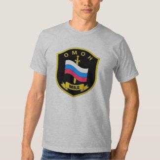 "MVD russe Spetsnaz ""OMON "" T-shirts"