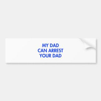 my-dad-can-arrest-your-dad-2-fut-blue.png autocollant pour voiture