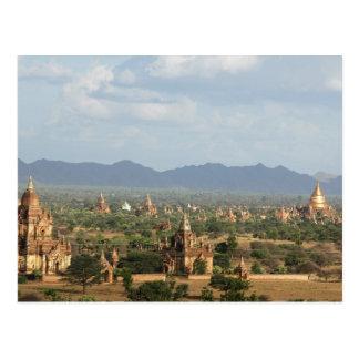 Myanmar, Bagan, temple a emballé tout simplement Carte Postale
