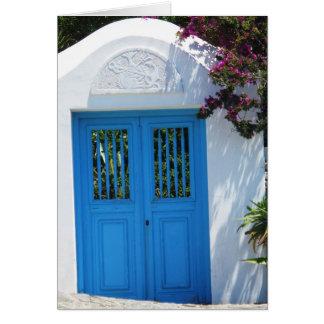 Mykonos, Grèce Carte De Vœux