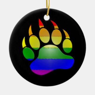 MyPride365 - Ornement de Noël de patte d'ours