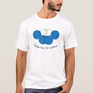 Myrtilles pour l'été t-shirt