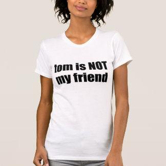 Myspace Tom n'est pas mon ami T-shirts