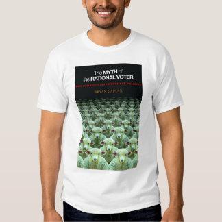 Mythe du T-shirt rationnel d'électeur - couverture