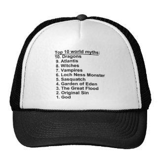 Mythes du principal 10 casquette trucker