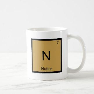 N - Argot des Anglais de symbole d'élément de Mug Blanc