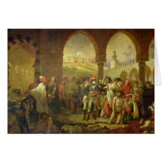 N. Bonaparte visitant la peste frappée de Carte De Vœux
