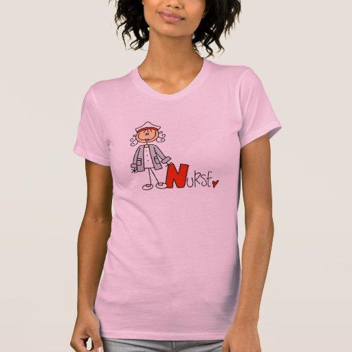 N est pour l'infirmière t-shirt