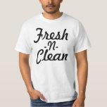 N frais propre t-shirt