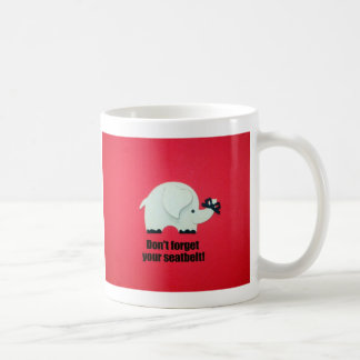 N oubliez pas votre ceinture de sécurité mugs