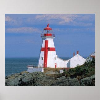Na, Canada, Nouveau Brunswick, île de Campobello Affiches