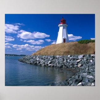 Na, Canada, Nouveau Brunswick, île de Campobello.  Poster
